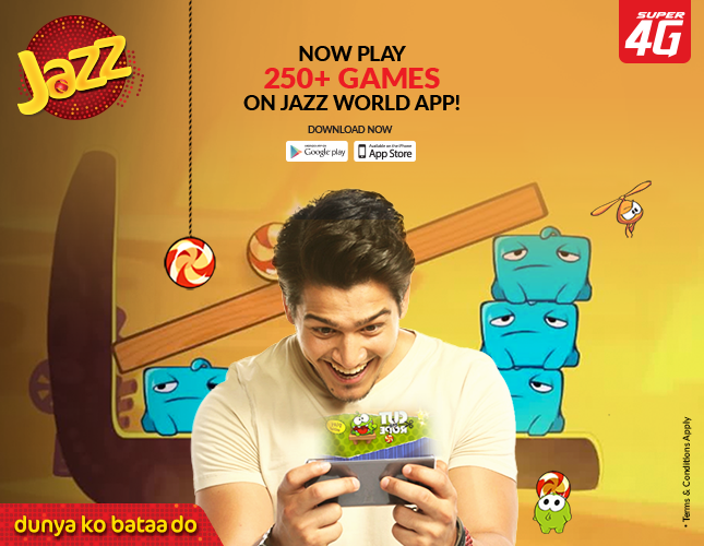 games now available on Jazz World