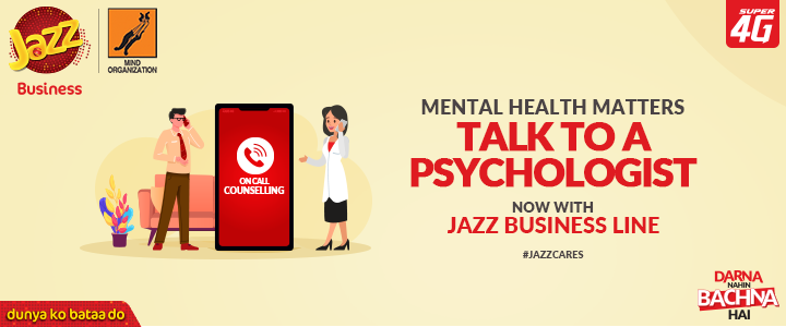We've launched a COVID-19 Mental Wellbeing helpline, 'Zehni Sehat Helpline'