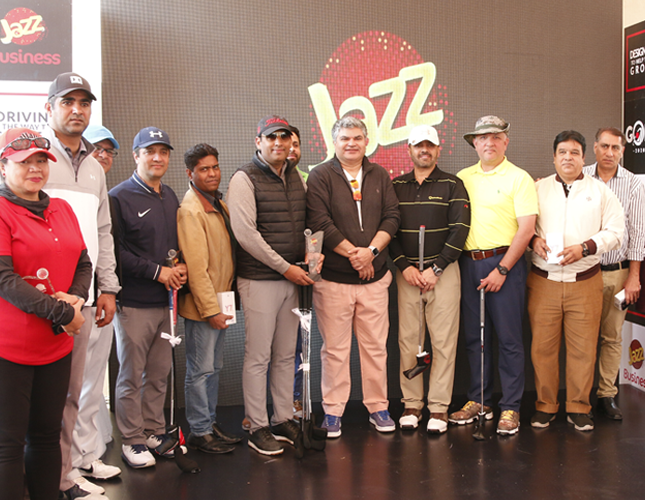 Jazz Golf Tournament 2020  Takes Place in Islamabad