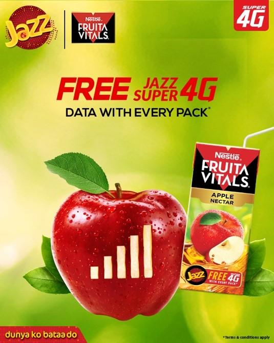 We've partnered with Nestlé Fruita Vitals