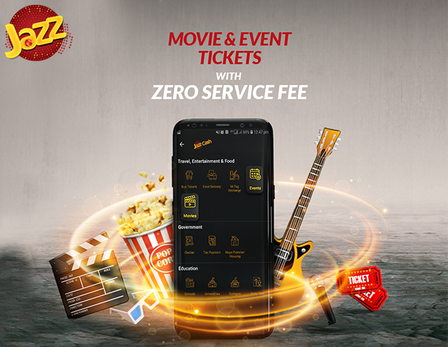 JazzCash has Partnered with EasyTickets