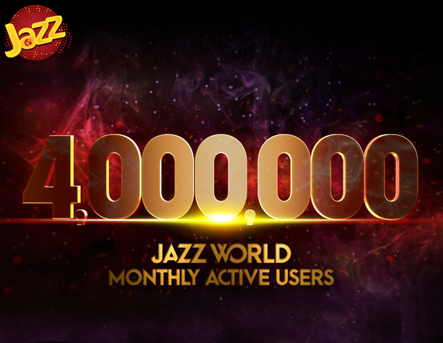 Jazz World Reaches  4 Million Monthly Active Users