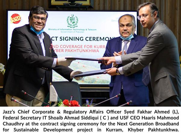 for providing high-speed Broadband in Kurram